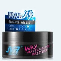 Mężczyzna szybko stała trwały silne żel do układania włosów wosk pomada błoto krem puszyste stylizacji matowy tekstury włosów #819