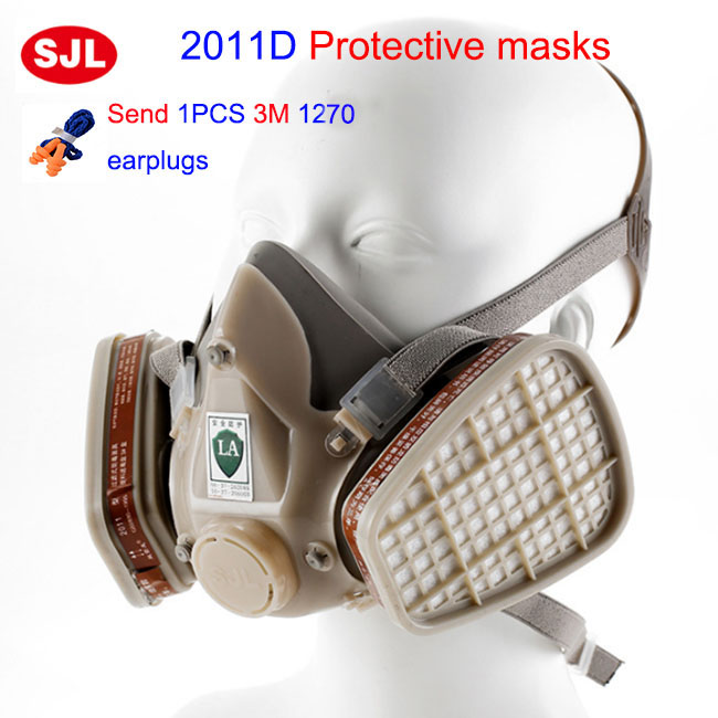 high quality respirator gas mask Be applicable 6001 filter pesticides spraying industrial safety gasmaske high quality carbon filter mask silicone multifunction respirator gas mask paint spray pesticides industrial safety protect mask