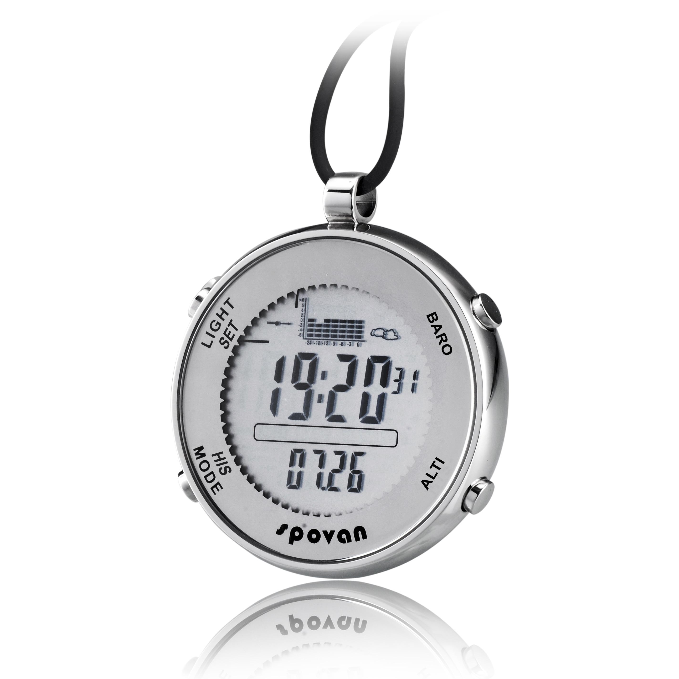 Digital Watches Multifunction Waterproof Spovan Watch Altimeter Compass Stopwatch Fishing Barometer Outdoor Sports Watch dl-o03