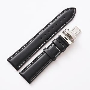 Image 3 - 19mm Watchbands Genuine Leather 20mm Black Watch Accessories Watch Bracelet Steel Buckle Watch Band Strap for Tissot 1853 T095