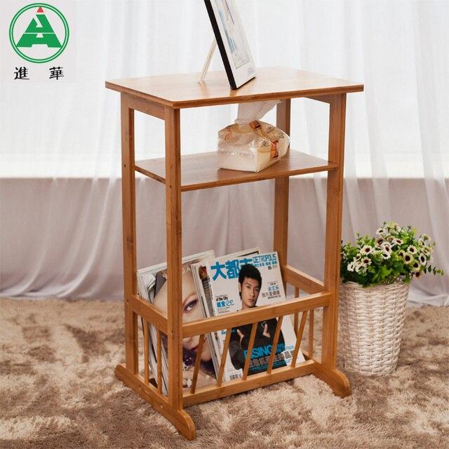 Jin Hua Bambou Canapé Table Dappoint Stockage De Porte Revues - Porte journaux