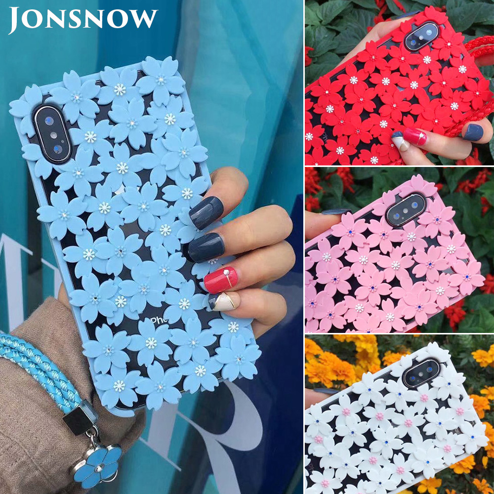 KIPX1048_1_JONSNOW 3D Flower Hollow Out Phone Case For iPhone 7 8 Silicone Cases for iPhone XS XR 6S 7P 8 Plus XS Max Back Cover