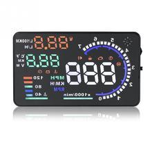 Высокое качество A8 Автомобильный бортовой компьютерный проектор Автомобильный цифровой gps OBD водительский дисплеер
