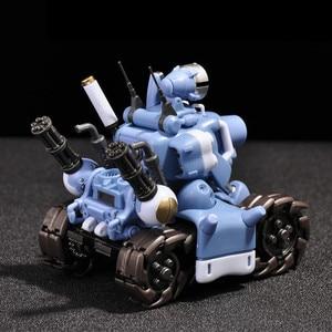 Image 2 - YH Metal Slug Super Voertuig SV 001 tank model beweegbare innerlijke structuur Blauw of Grijs