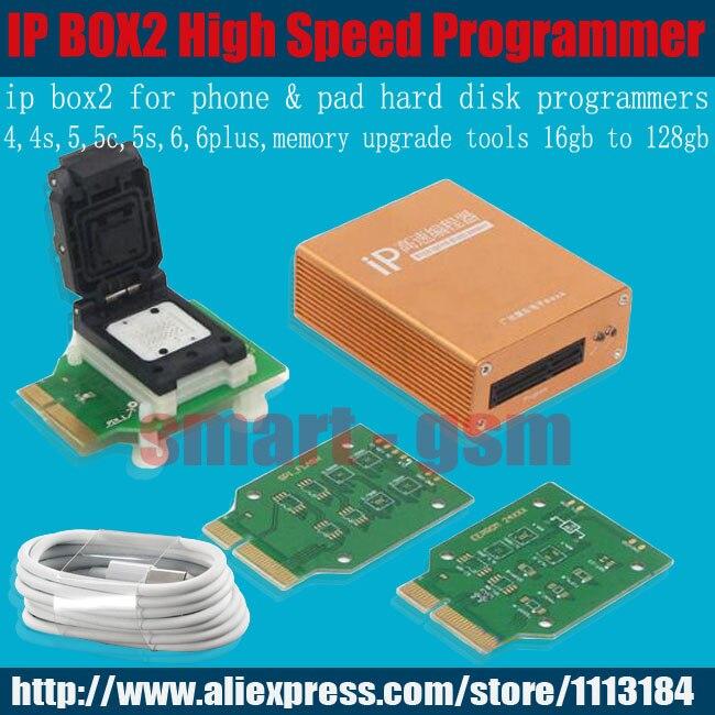 Цена за Последний оригинальный Ip высокоскоростной программист коробка IP box2 IP ьох2 для Iphone & Ipad бесплатная доставка