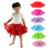 2016 Moda faldas para las niñas niño Princesa cabritos de la falda falda de Verano para Niñas recién nacidas Casuales Ropa de Fiesta Pettiskirt Mullido