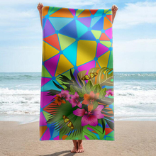 GNORRIS Sand Free Microfiber plant rectangle Beach Towel Blanket - Quick Dry Super Water Absorbent Yoga mat