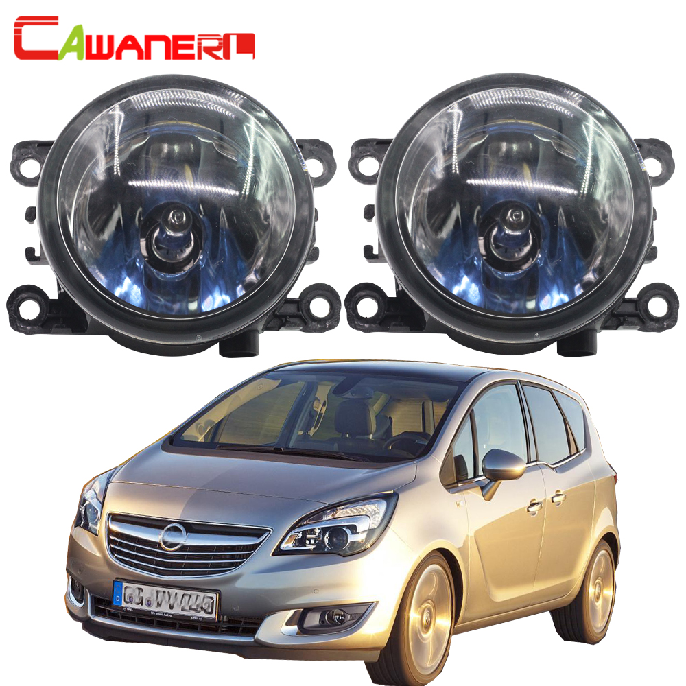 Cawanerl For Opel Meriva A 2006-2010 100W H11 Car Light Styling Halogen Bulb Fog Light Daytime Running Lamp DRL 12V High Power
