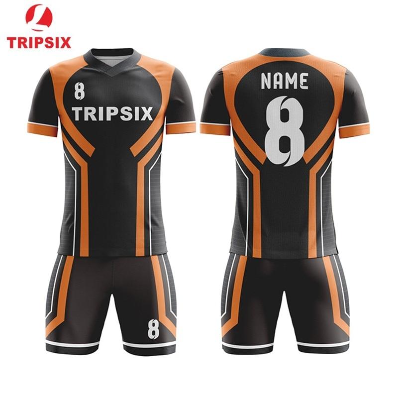 Дизайн свой собственный Футбольная форма Полный сублимации команды Футбол Джерси стиль