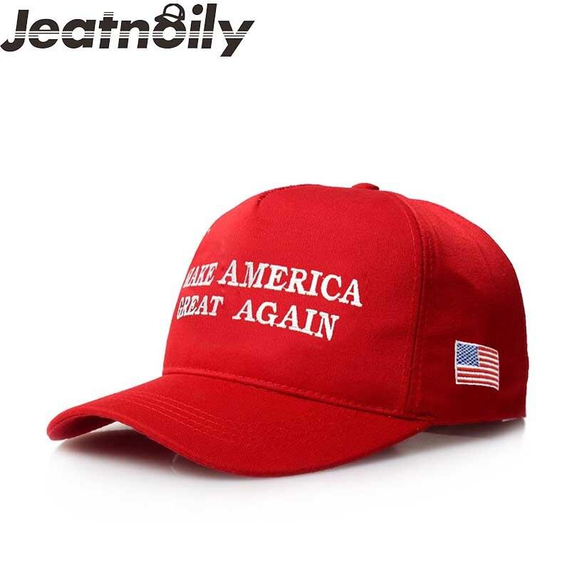 2017 neue Mode Frauen Und Männer Shade Sun Hut Buchstaben [machen Amerika Große Wieder] amerikanische Flagge Baseballmütze Flut Kappe A5-60