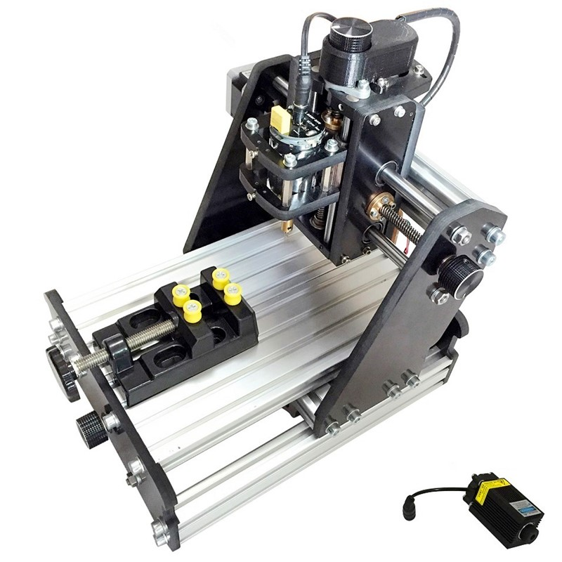 3 - Axis CNC Engraving Machine Micro - Desktop Laser Engraving Machine Micro - Cutting Plotter Work Area 15 * 10 * 5 Cm