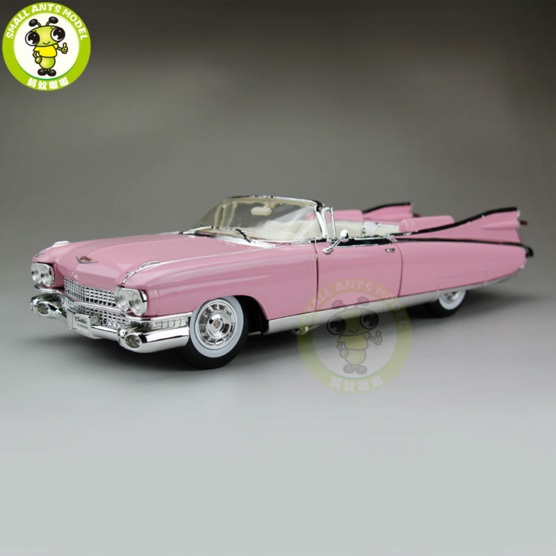 1/18 US GM 1959 Cadillac ELDORADO BIARRITZ Maisto Model Diecast Model Car Pink maisto 1959 cadillac eldorado biarritz 1 18 scale alloy model metal diecast car toys high quality collection kids toys gift