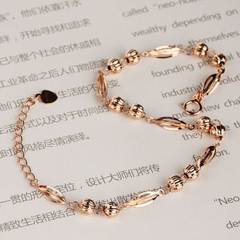 18K Pure Gold Bracelet Real AU 750 Solid Gold Bangle Good Beautiful Upscale Trendy Classic Party Fine Jewelry Hot Sell New 2020 3
