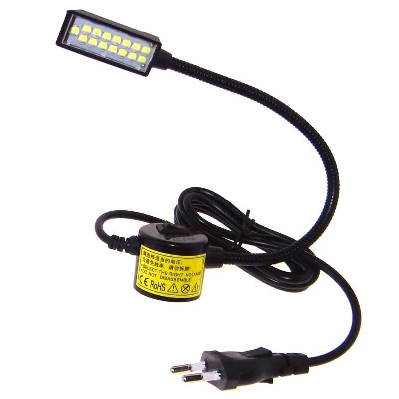 Аксессуары для швейных машин, запчасти для инструментов, энергосберегающий светодиодный светильник, лампы для рабочего стола, настольная лампа с магнитным креплением