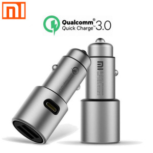 Image 2 - Original Xiaomi Car Charger QC3.0 Version Extended Accessory         Xiaomi QC3.0 Quick car charger For smartphone Dual USB