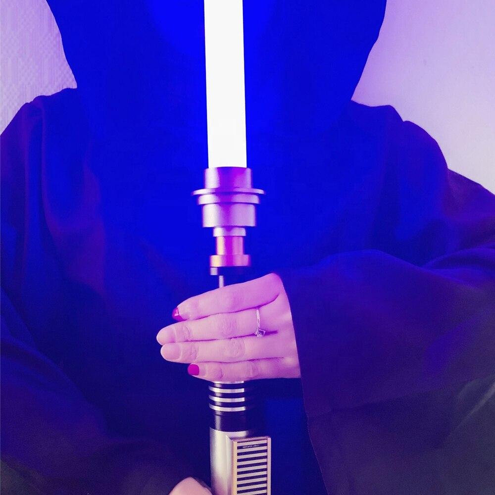 7 couleurs YDD Star the Wars sabre laser Luke sabre avec boîtier de contrôle poignée en métal couleur unique FOC Blaster gros sabre laser jouets - 6