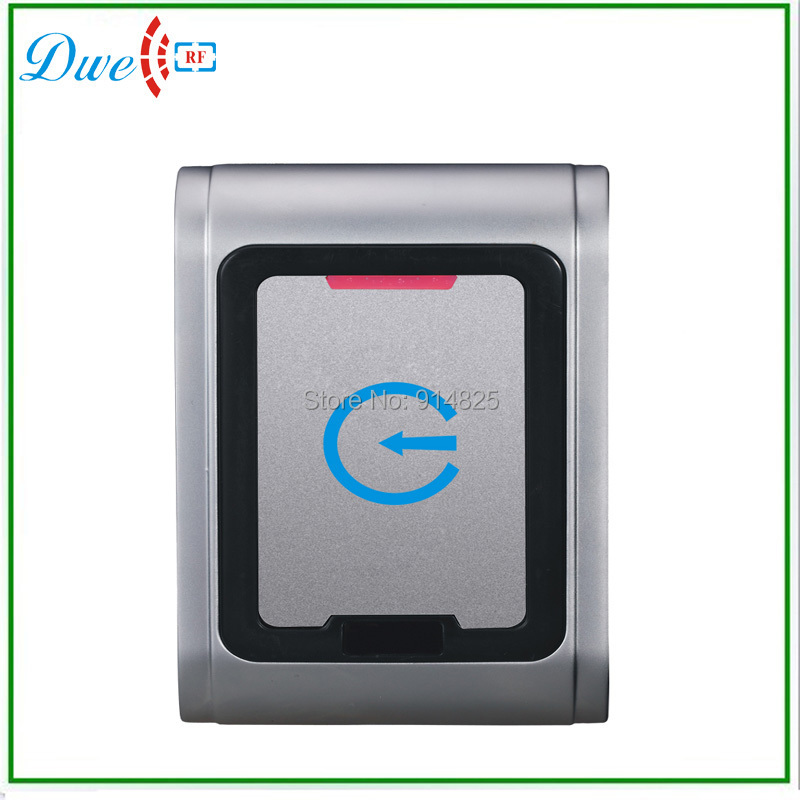 Free shipping EM-ID wiegand 26 outdoor access control reader support TK4100 card IP65 002L-26 dwe cc rf 125khz em id wiegand 26 outdoor access control reader support tk4100 card ip65 002m 26