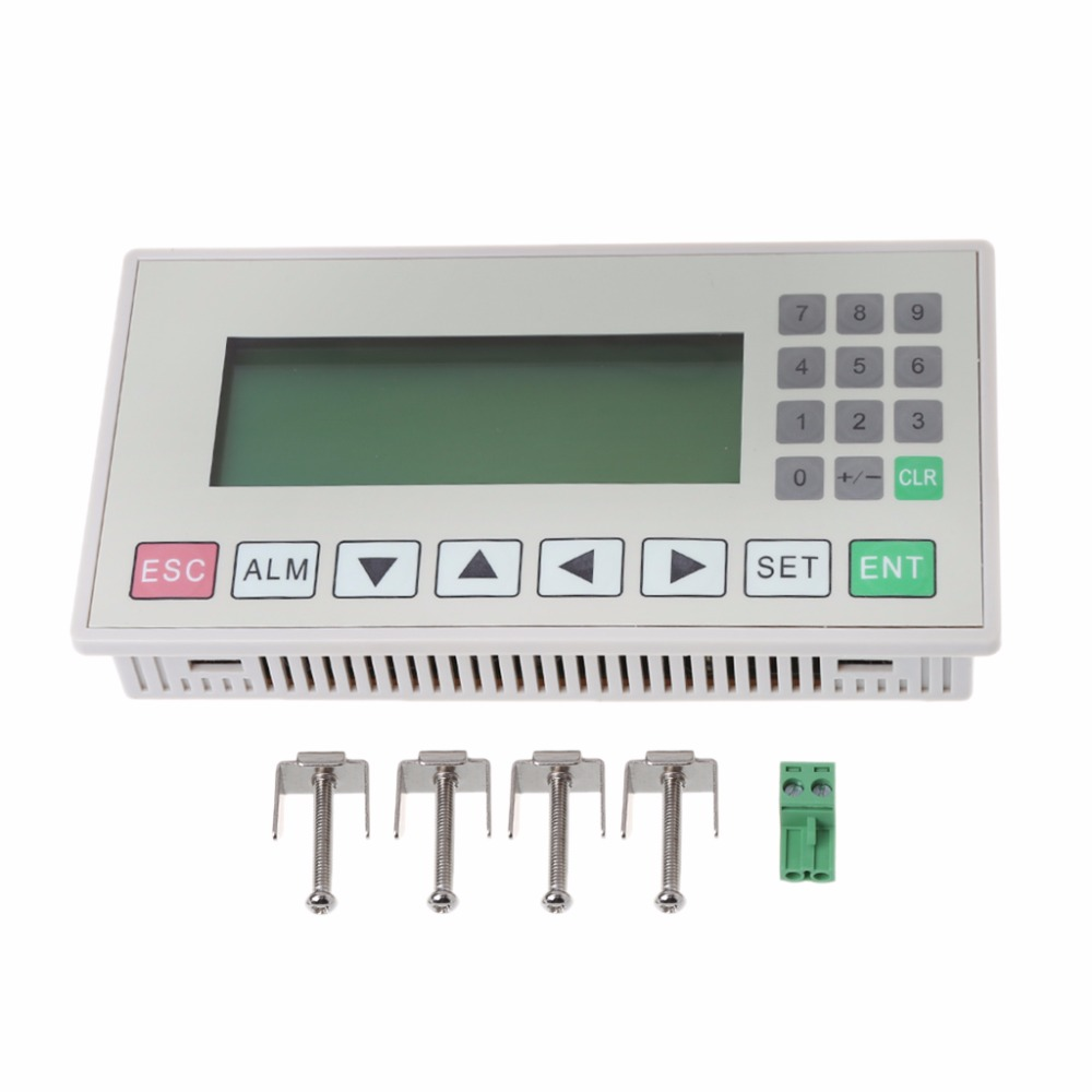 OP320-A Text Display Compatible with V6.5 MD204L Support 232 485 Communication expansion module elc md204l text panel