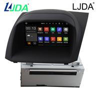 LJDA Quad Core Multimedia Android 5 1 Car DVD GPS Player For Ford Fiesta 2012 2013