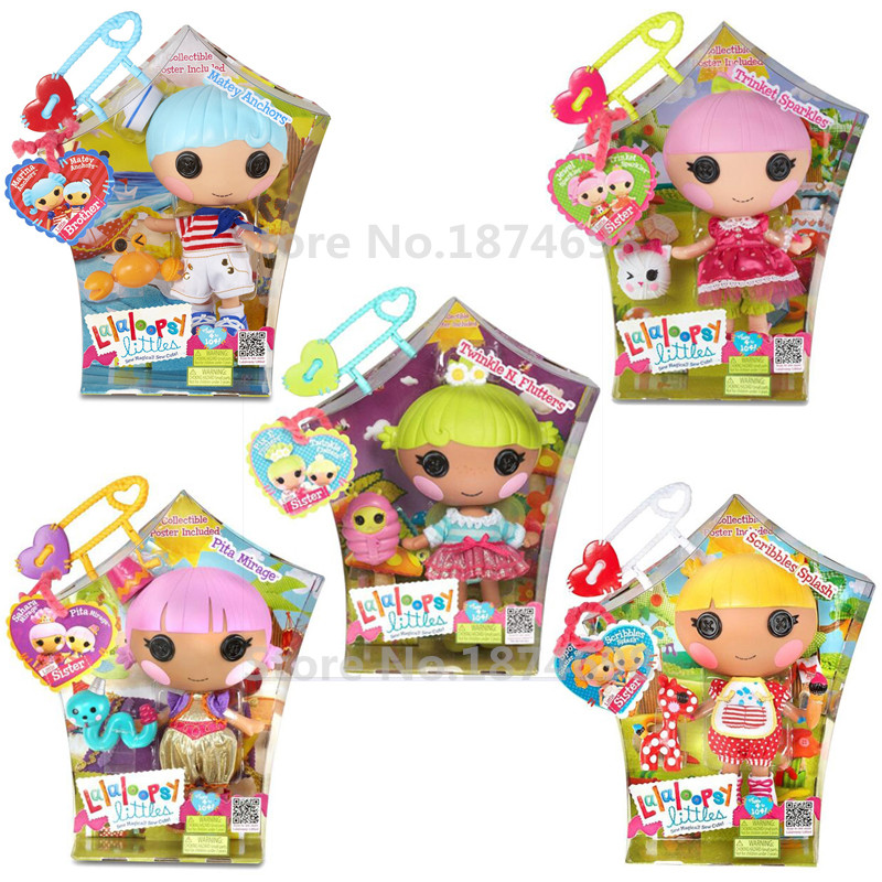 New Toys Lalaloopsy Littles Doll Series Collection Large Size 20cm Fashion Figure Toy Dolls for Girls