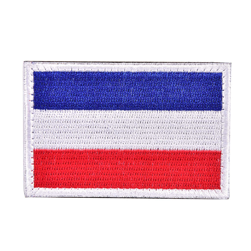 Hot Armband Dutch Netherlands National Flag Holland Applique Patches Tactical Embroidered Military Clothing Caps Badge Patches