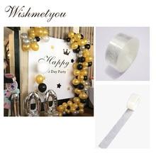 WISHMETYOU Wedding Decoration Balloon Dispensing Two Hole Chain Accessories Happy Birthday Supplies