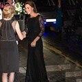Мать Платья герцогиня Кембриджская Кейт Миддлтон подобное Платье Торжественная одежда платья матери жениха платье mae да noiva Z059