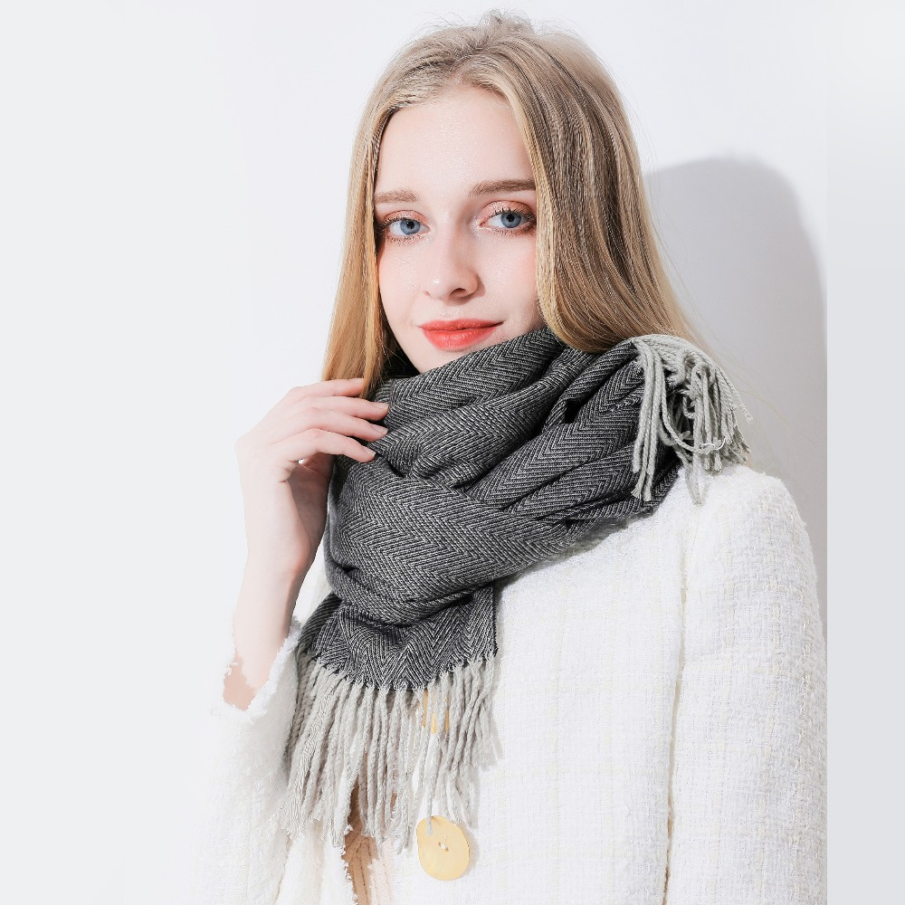 Soft Cashmere Scarf For Women Sea Fighter Aircraft Carrier Jet Flight Missile Airplane Fly Fashion Lady Shawls,Comfortable Warm Winter Scarfs