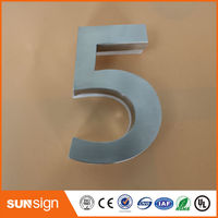 New Classical European Style Pure Copper House Number Card Villa Apartment Number Four Digits Free Shipping