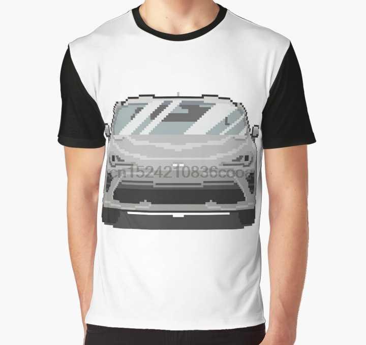 Мужская смешная футболка с 3D принтом, серебряная футболка 2017 GT86