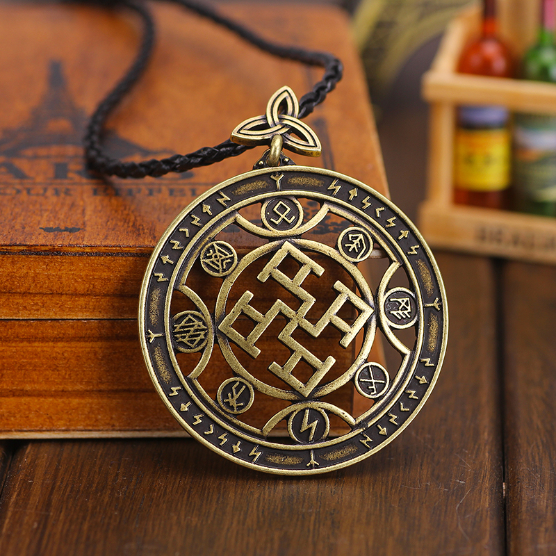 Slavic Spiritual Strength Pendants Slavic Spiritual Strength Amulet Pendant Charm Drop Shipping