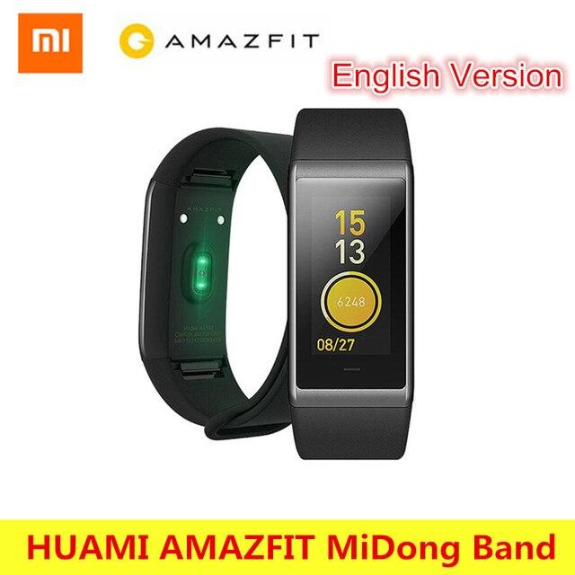 HUAMI AMAZFIT Midong Band Smartband Bluetooth 4.1 GPS Heart Rate Monitor 50 Meter Waterproof IPS Screen Wristband Smart Bracelet