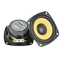 AIYIMA 2pcs 3 Pollici Full Range Speaker 4Ohm 10W Oro Bordo della Gomma Piuma Nero Magnetico Multimedia Altoparlante HIFI FAI DA TE 78 millimetri Audio Speaker