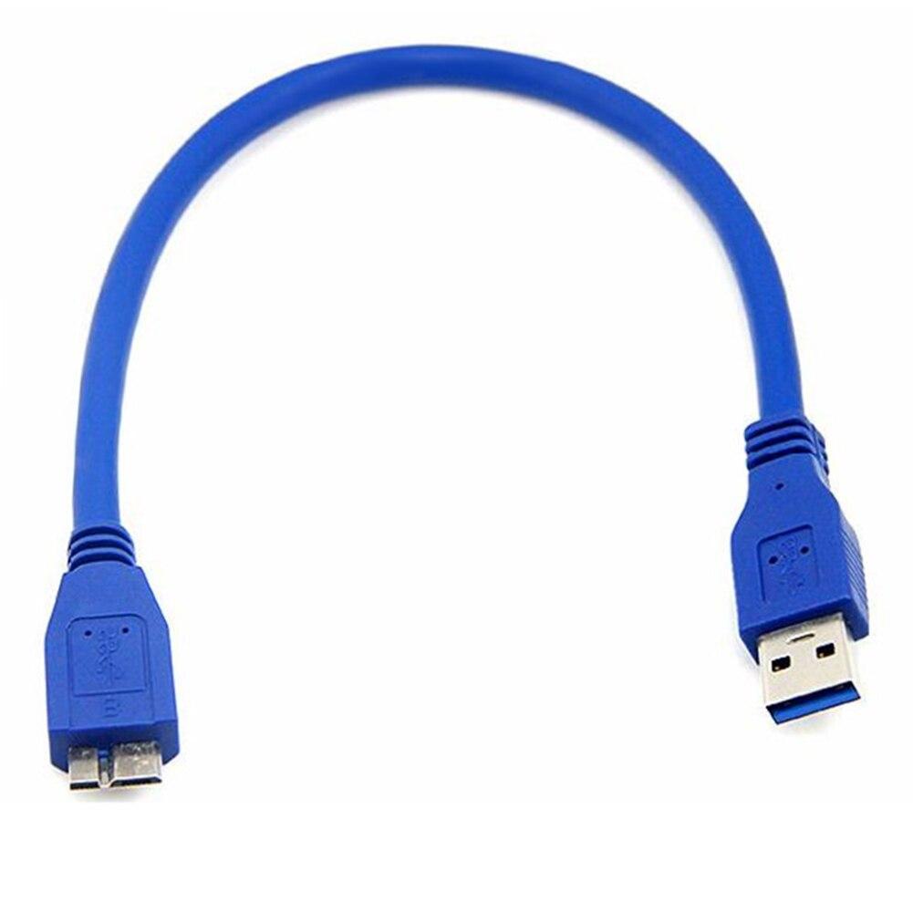Super Speed Usb 3.0 A Stecker Am Zu Micro-b Usb 3.0 Micro B Männlichen Usb 3.0 Kabel 0,3 Mt Für Samsung Anmerkung3/s5 Pc Laptop Datenkabel