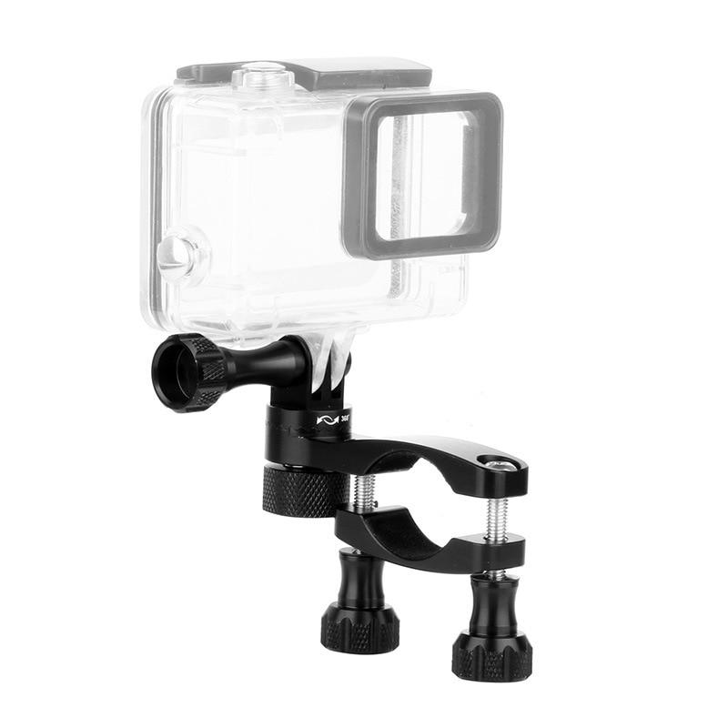 Aluminum Bicycle clamp 360 Degree Rotation Bike Handlebar Adapter Mount & Screw For GoPro Hero 7 6 5 DJI OSMO Action Camera (10)