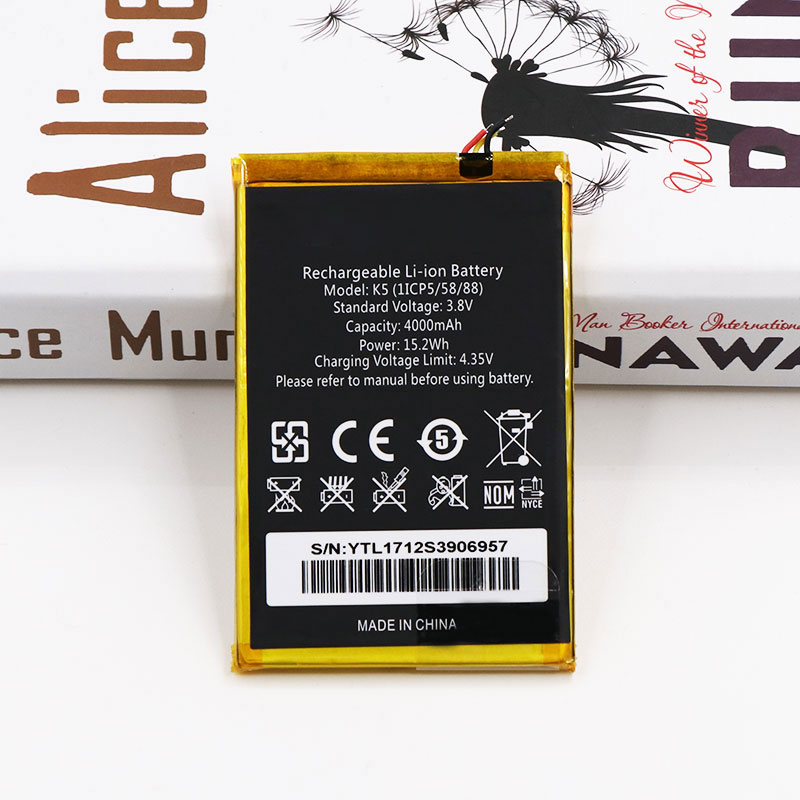 Mobile Phone Parts Dygod 4000mah For Oukitel K5 Battery Replacement Batteries Bateria For Oukitel K5 Smart Phone+tools High Quality Goods