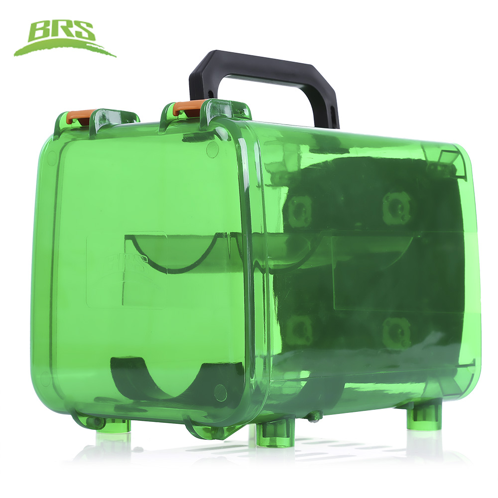 цена на BRS-Q5 Outdoor Camping Picnic Power Gas Tank Unit Bin High Strength Polycarbonate HIking Gas Stove Accessory
