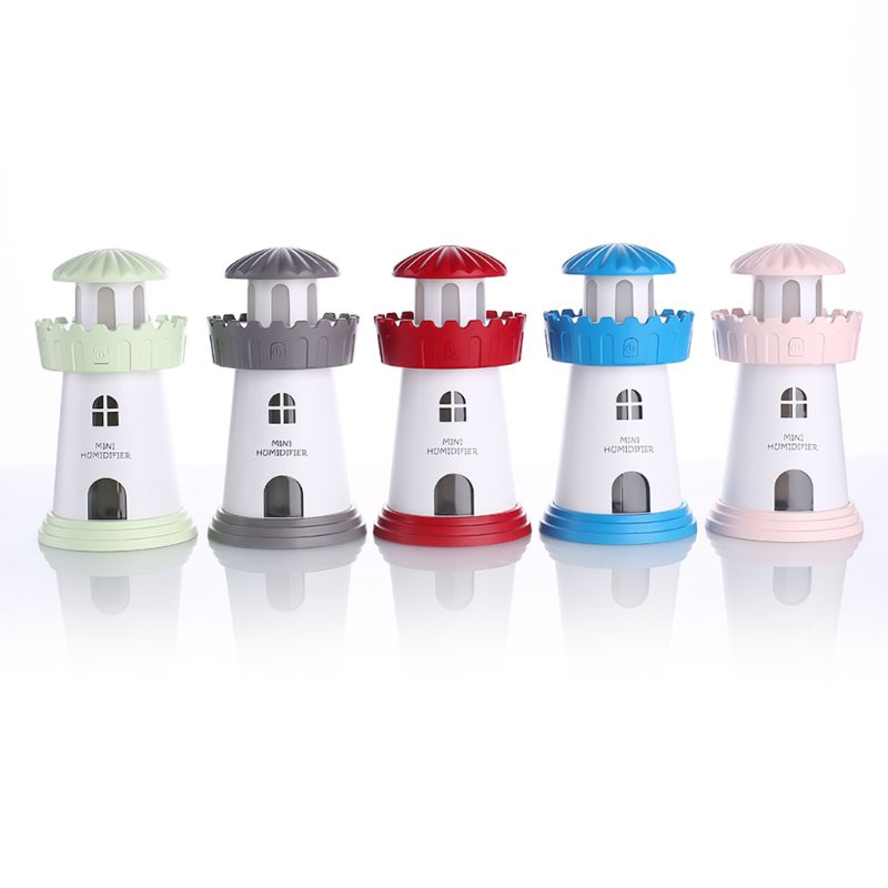 Lighthouse Air Humidifier Kit Mini Aroma Essential Oil Diffuser Mist Maker  Lighthouse Air Humidifier Kit Mini Aroma Essential Oil Diffuser Mist Maker