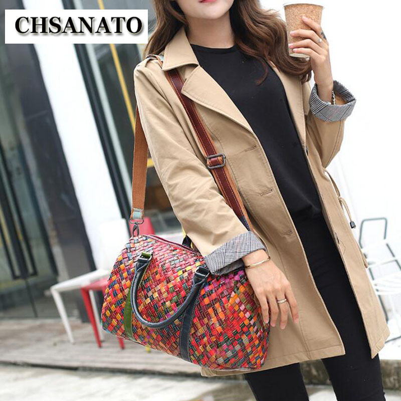 2019 new hot brands England Style Women Genuine Leather Handbag Ladies Shoulder Bags Messenger Bags Bolsas