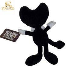 Kawaii Bendy Pillow Stuffed Plush Wolf Boris Angel Girls Alice Dolls Batim Horror Game Cute Cartoon Anime Ink Soft Cushion Toys