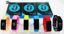 2017 новый Смарт-группы x9 браслет браслет часы с Bluetooth пульт дистанционного управления смарт-импульса крови питание smartband напомнить PK id107
