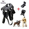 Acessórios GoPro Ajustável Dog Fetch Harness Chest Strap Belt Mount Tripés para o esporte câmera gopro hero 4 3 + 5 xiaomi yi gp197