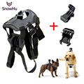 GoPro Accessories Adjustable Dog Fetch Harness Chest Strap Belt Mount Tripods For GoPro Hero 4 3+ 5 xiaomi yi Sport Camera GP197
