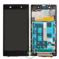 100% Test LCD Display Screen For Sony Xperia Z1 L39H LCD Screen+Touch Digitizer Assembly+ Frame+Tools