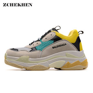 adc0bf0811 ZCHEKHEN 2018 breathable lace up woman sneakers shoes