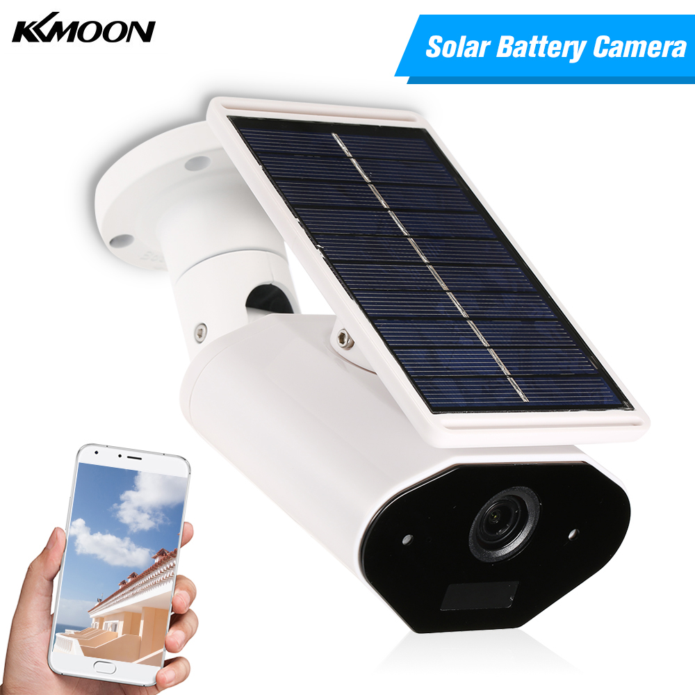 WIFI Wireless Waterproof Outdoor Camera 960P Solar Battery Power Low Power Consumption Surveillance Camera for Home