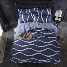 New Birthday Present Duvet Cover Flat Bed Sheet Linen Pillowcase Bedding Sets Full King Twin Queen Size 3/ 4pcs