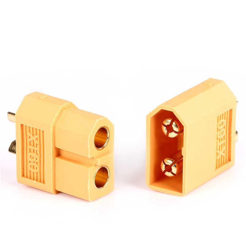 2 pièces/lot XT60 XT-60 mâle femelle connecteurs de balle bouchons pour RC Lipo batterie quadrirotor Multicopter