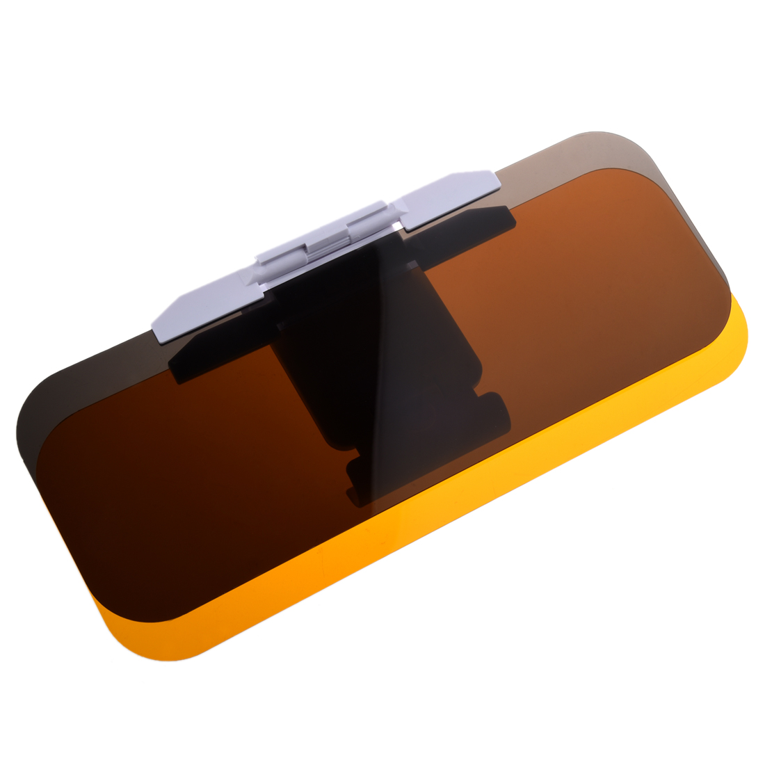 Clear Yellow Flip out Sun Visor Extender for Car Auto
