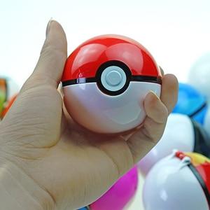 Image 2 - Pikachu 20 adet Pokeball + 20 adet rastgele figürü aksiyon figürleri Cosplay sahne film çevre sevimli hediye